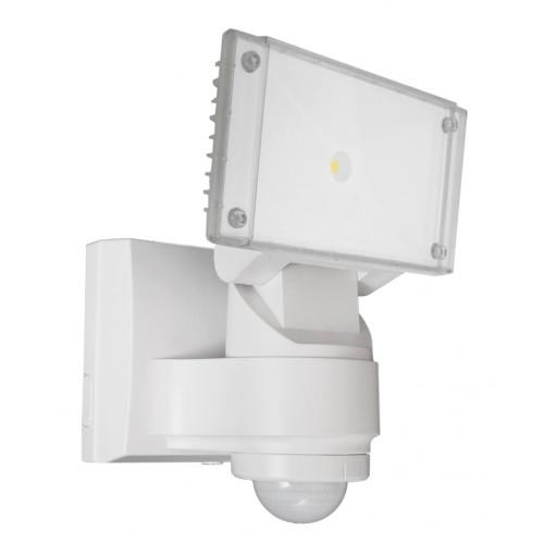 16 Watt CREE LED Floodlight with Sensor - White