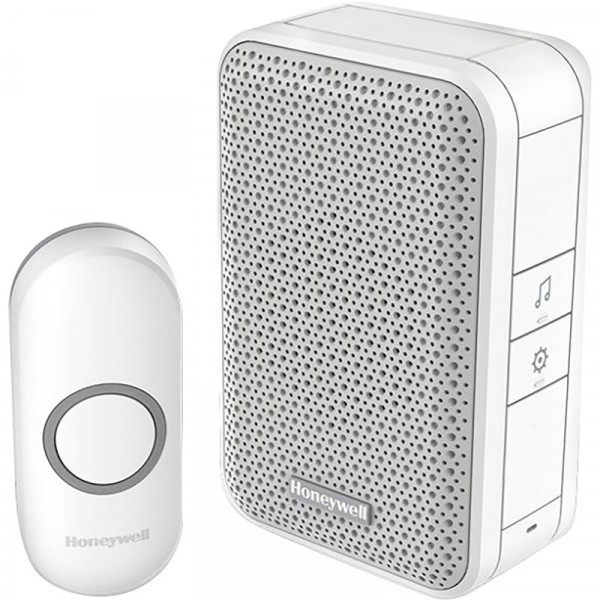 Honeywell Series 3 Chimes Wireless Portable Doorbell  sc 1 st  Bulbs and More & Honeywell Series 3 Chimes Wireless Portable Doorbell- Key FeaturesUp ...