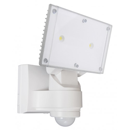 32 Watt CREE LED Floodlight with Sensor - White