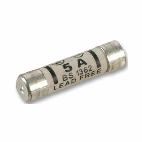 5a Ceramic Household Plug Top Fuse Pack of 10