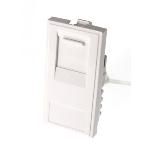 RJ45 CAT5e Outlet - White