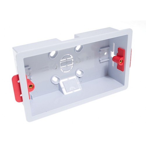 Dry Lining Wall Box - 35mm Double