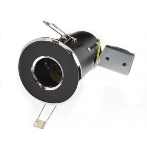 240v GU10 Diecast Shower Light - IP65 - Polished Chrome