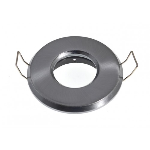 Non-Fire Rated IP65 Downlight - Brushed Chrome
