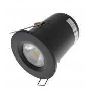 Matt Black Fire Rated Downlights