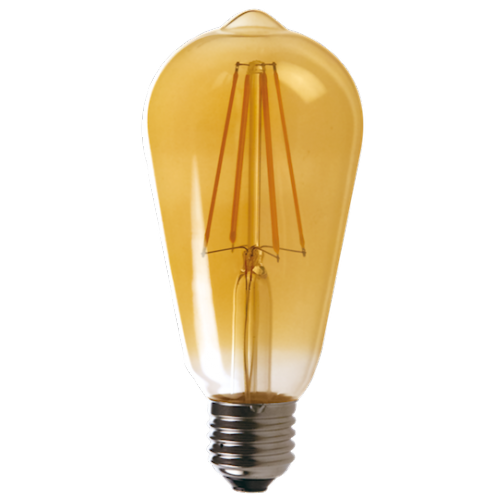 Vintage ST64 6w Dimmable LED Filament Bulb
