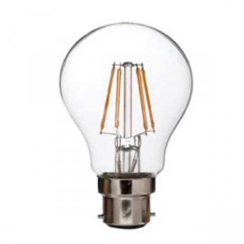6w LED Filament GLS Lamp - B22 Warm White
