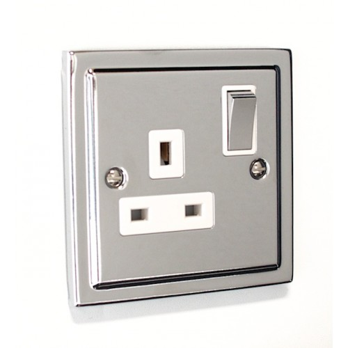 Regency - 1 Gang Plug Socket - R06PCW