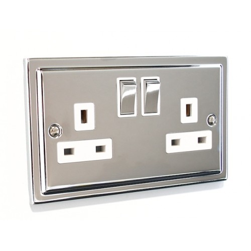Regency - 2 Gang Plug Socket - R07PCW