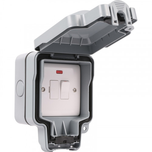 Weatherproof Outdoor IP66 13a Switched Fuse Spur