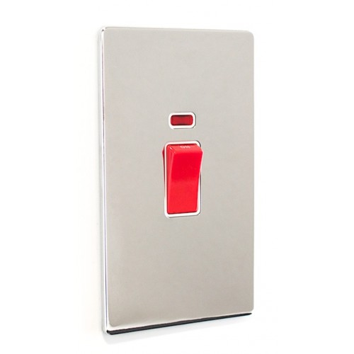 Signature Screwless - 45a Double Cooker Switch - SG40PCW