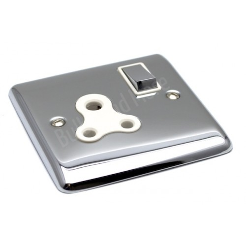 Polished Chrome - 5A Switched Socket - D58PCW