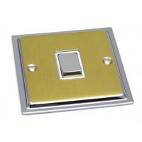 Ultra Slim - Polished Chrome/Satin Brass