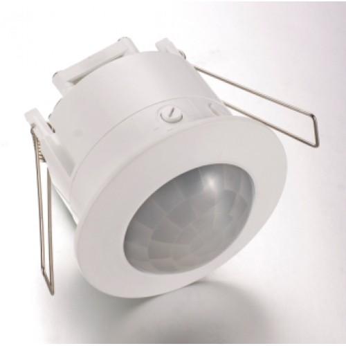 Recessed Ceiling PIR Sensor - White