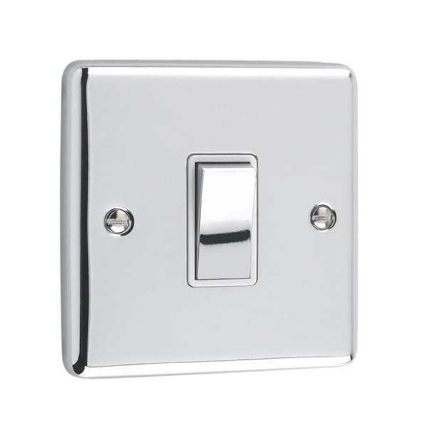 polished chrome light switches bulbs and more. Black Bedroom Furniture Sets. Home Design Ideas